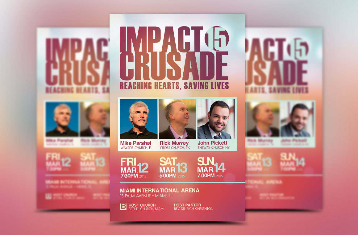 Church Crusade Flyer Template example image 1