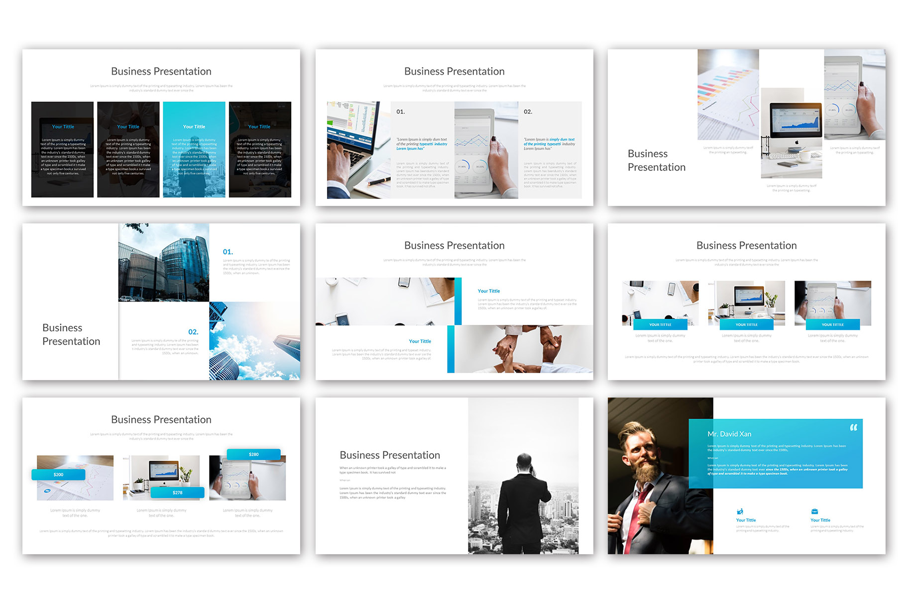 Big Business Presentation Template example image 5