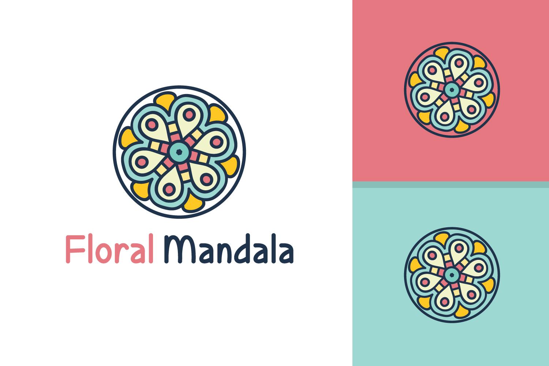 Floral Mandala Logo example image 1