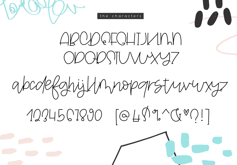 Skipjack - A Carefree Script Font example image 10