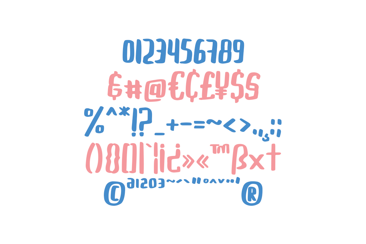 Buggiel - Bold and Fun Font example image 10