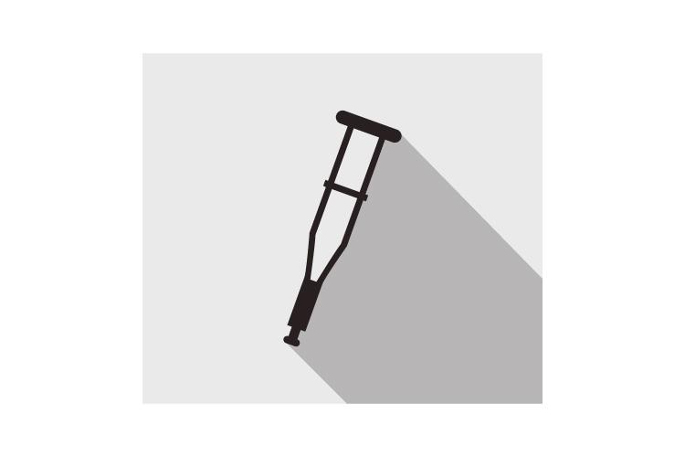 Crutch icon example image 1