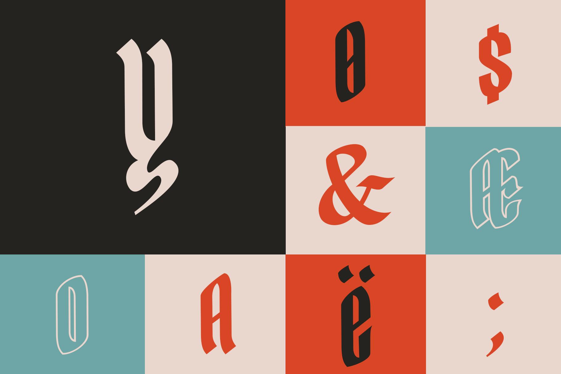 Yerington Typeface example image 9