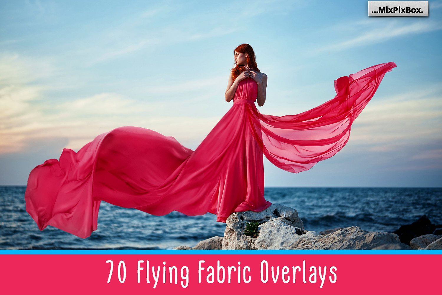 Flying Fabric Overlays example image 1