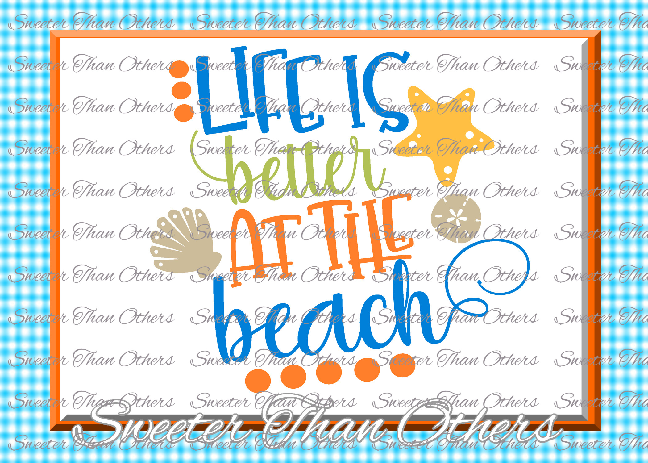 Beach Svg Life is Better at the Beach svg, Summer Beach example image 1