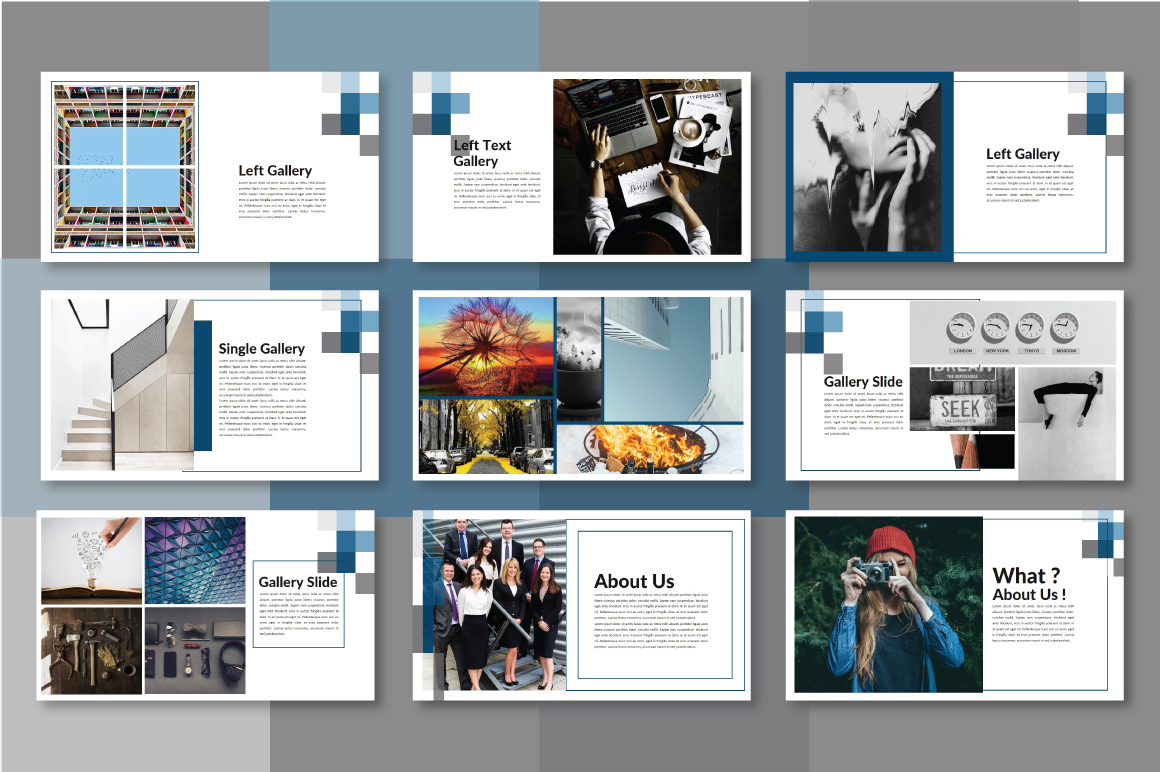 Half Powerpoint Template example image 3