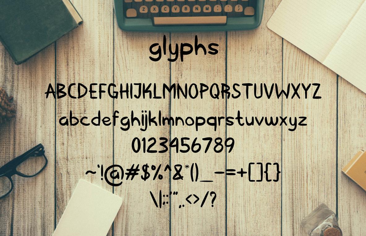 Kerape Handwritting Font example image 3