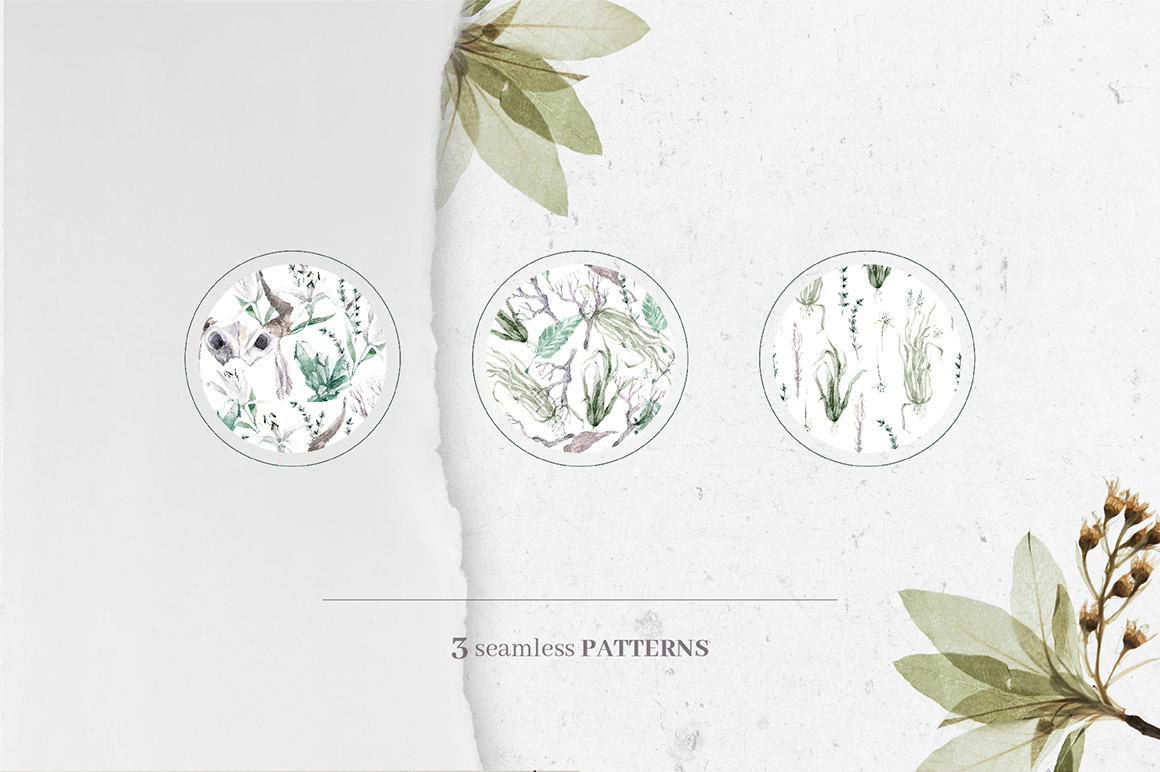 Gloomy fairytale graphic collection. example image 11