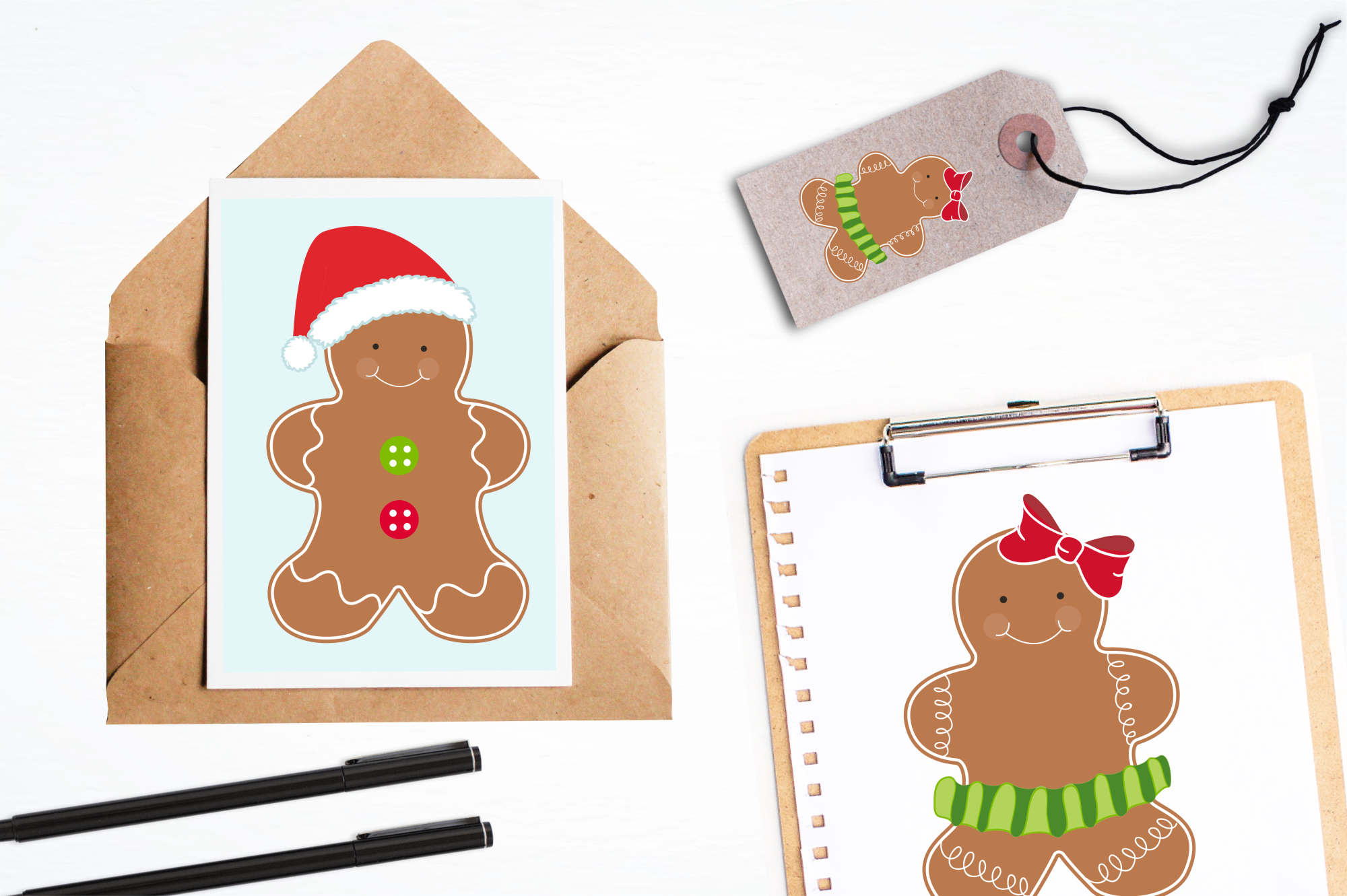Gingerbread Classic graphics and illustrations example image 4