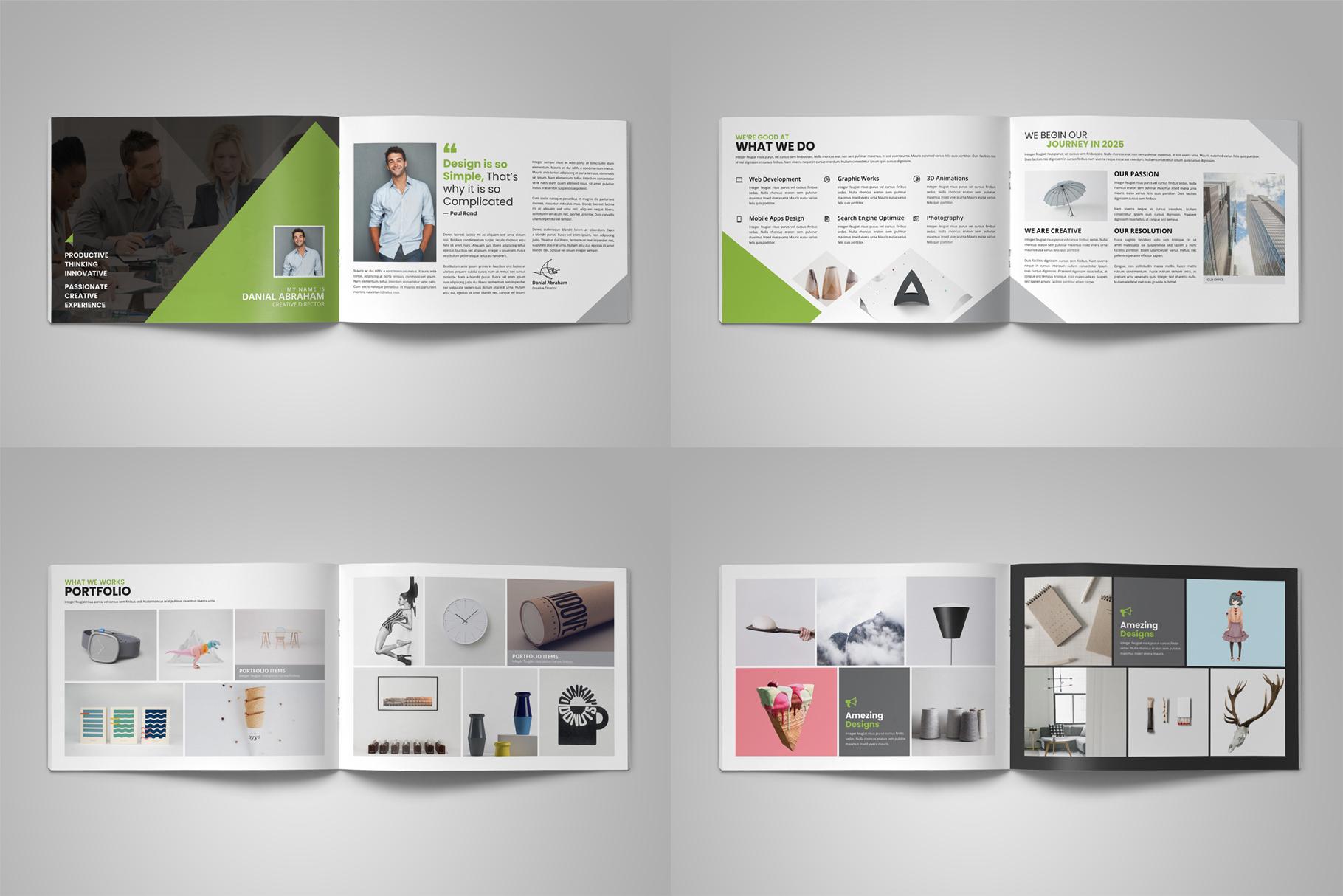 Digital Agency Portfolio Brochure v2 example image 13