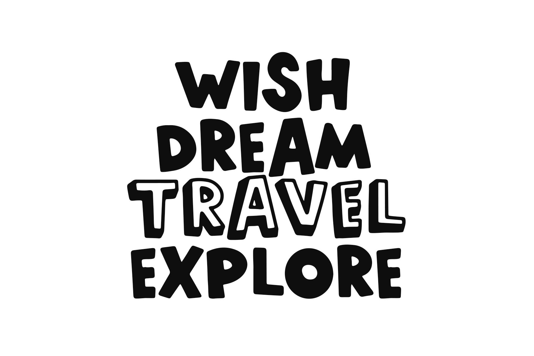 World Traveler - A Quirky Handwritten Font example image 2