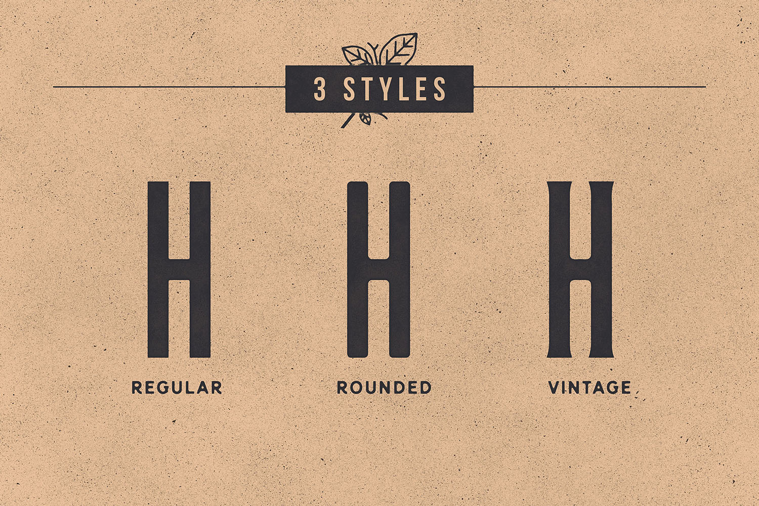 Nomads -The Farmer Original Typeface example image 5