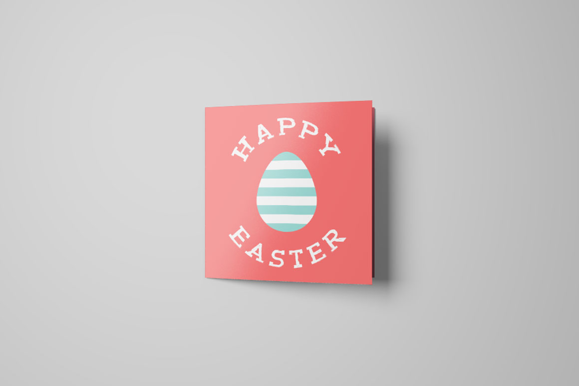 Holiday Greeting Easter Cards. example image 4