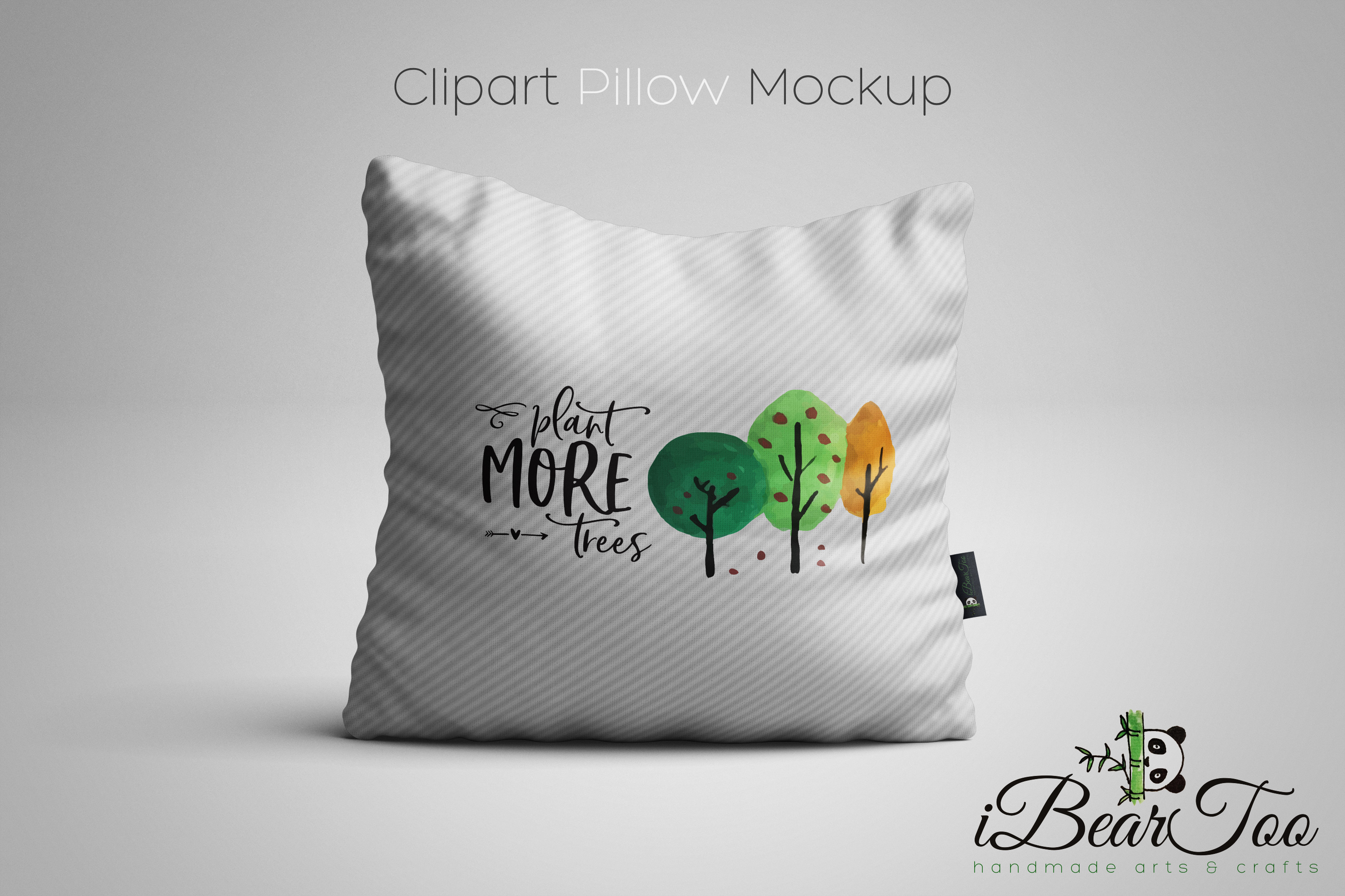 Plant More Trees SVG Clipart Watercolor, Vector Sketch example image 4