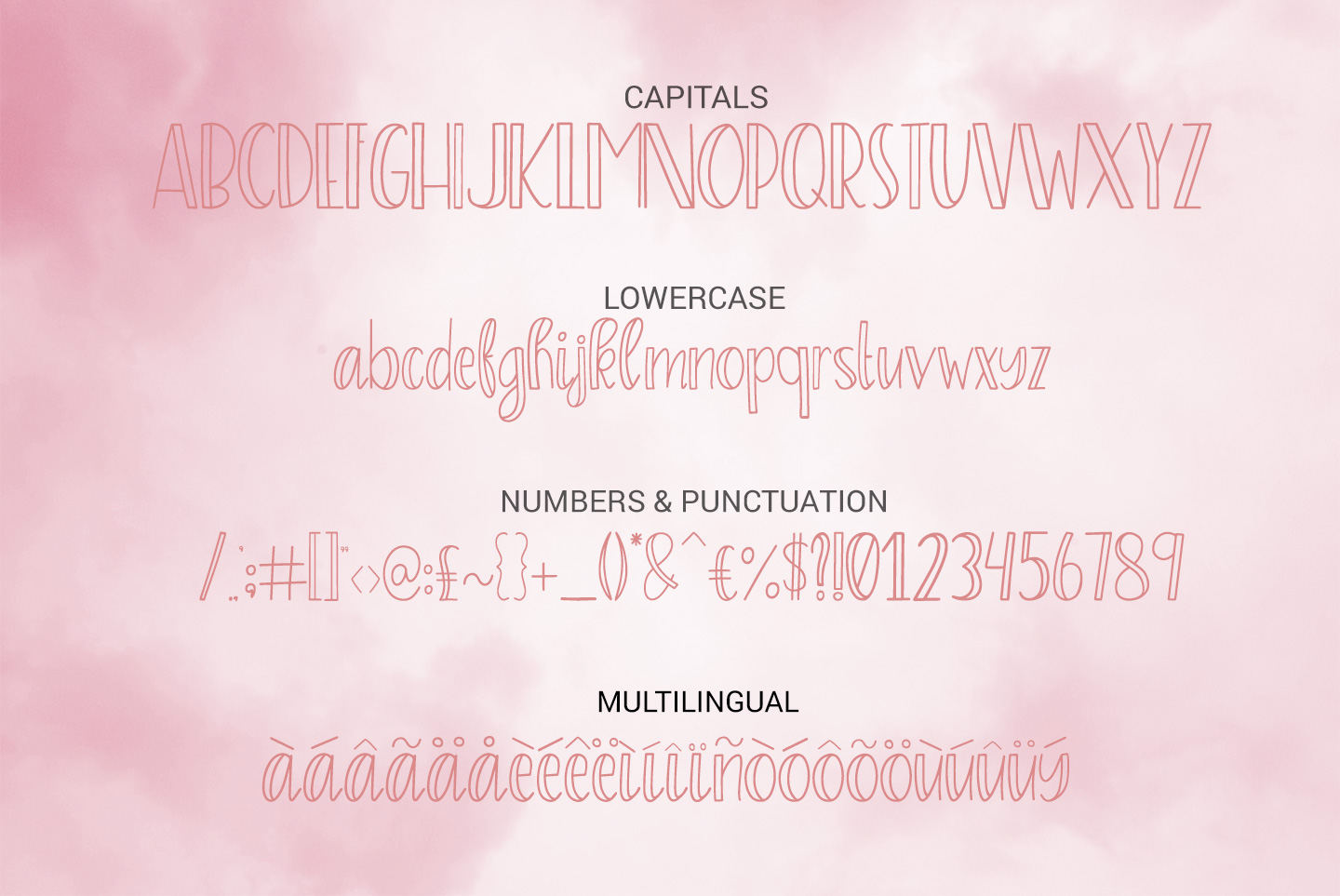 Sprinkles, A sweet and playful font example image 4