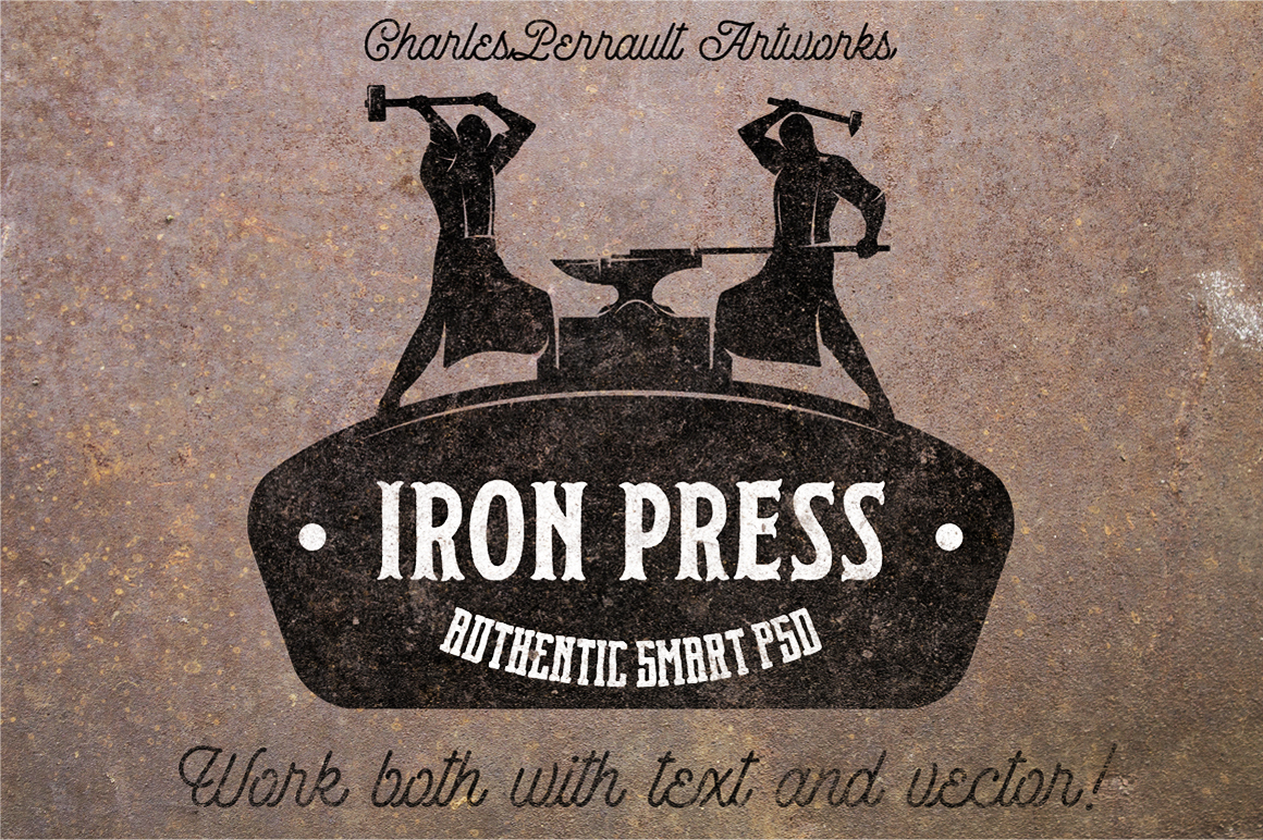 Iron Press Smart PSD example image 1