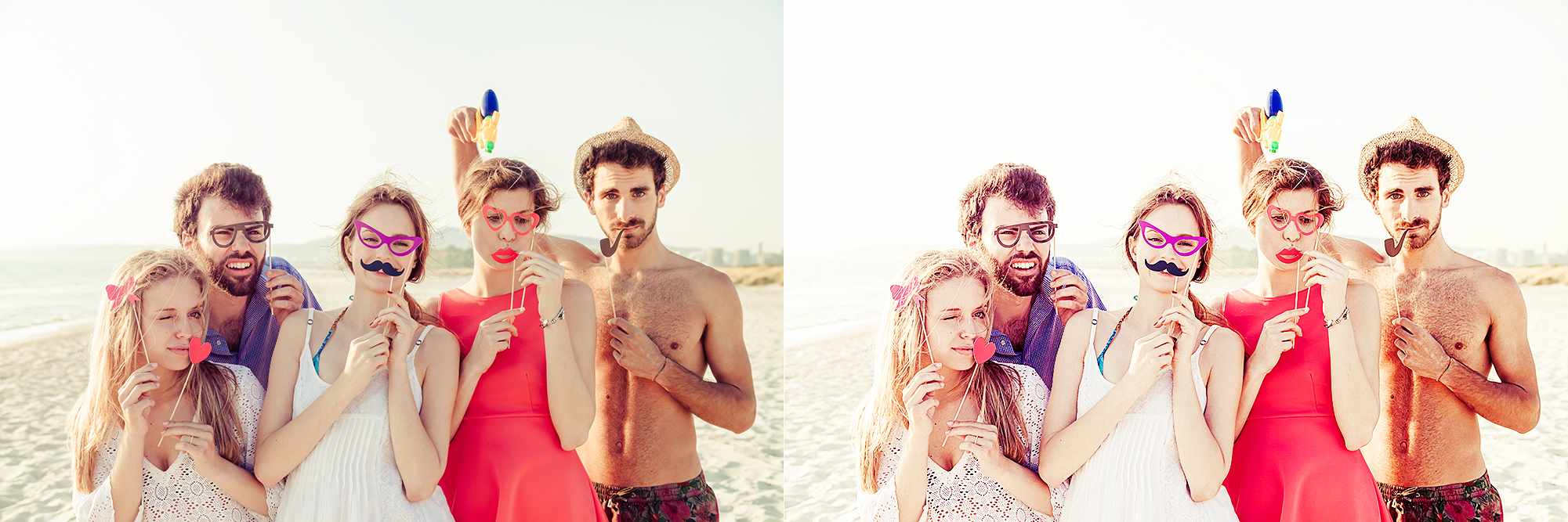 30 Summer Photoshop Actions Collection (Action for photoshop CS5,CS6,CC) example image 3