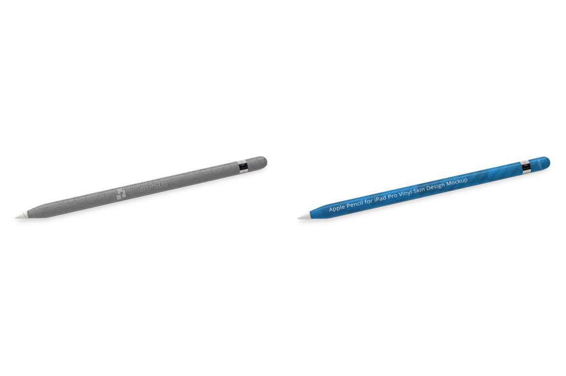 Apple Pencil for iPad Pro Vinyl Skin Design Mockup example image 5