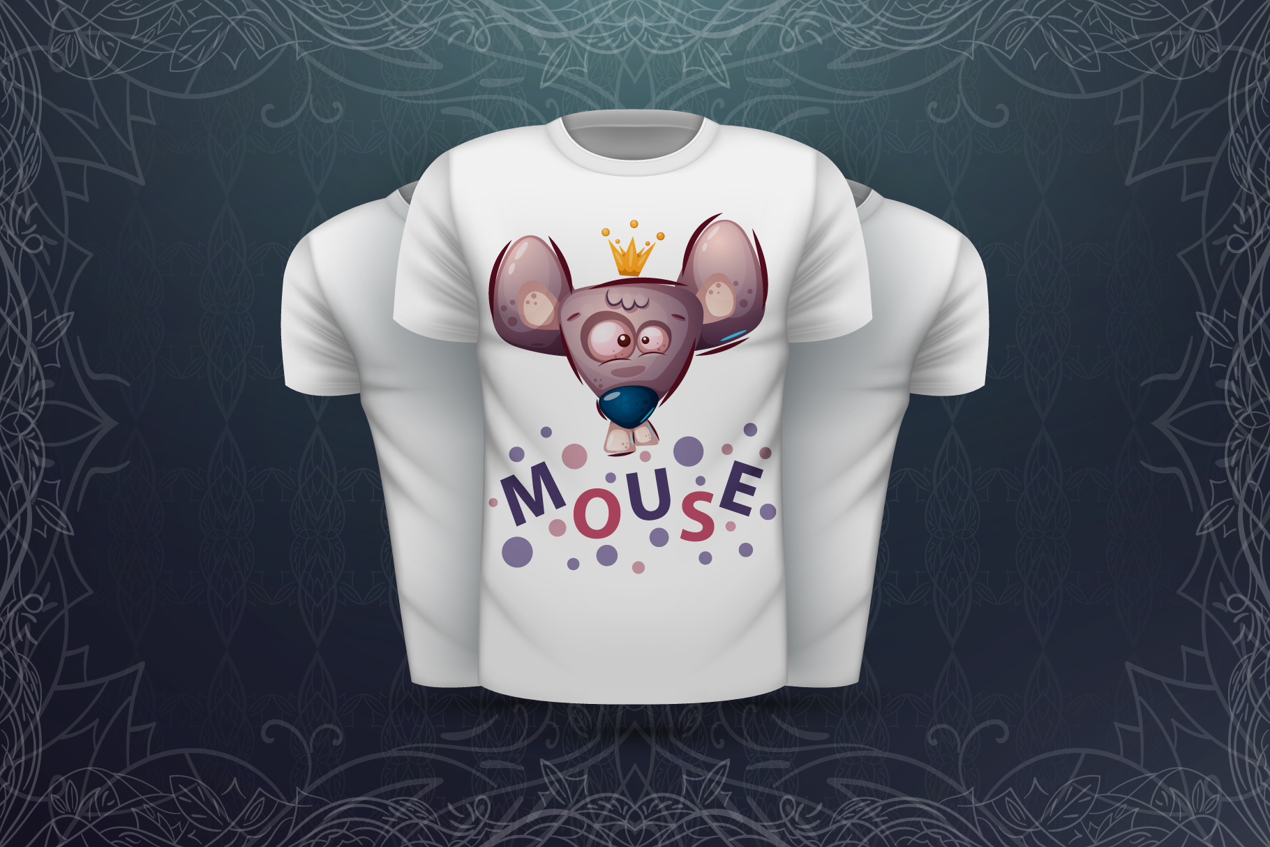 Set cute animal - for print t-shirt example image 4