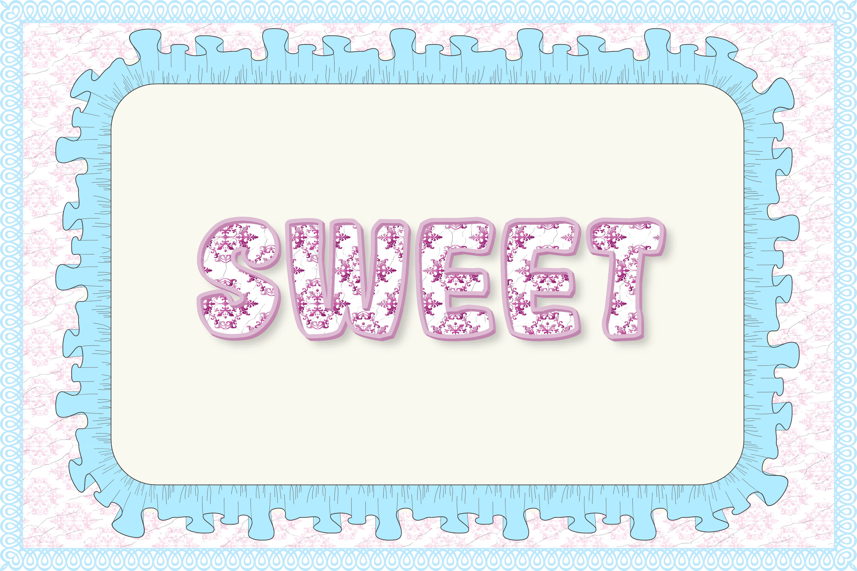12 Shabby Chic Adobe Illustrator Graphic Styles example image 13