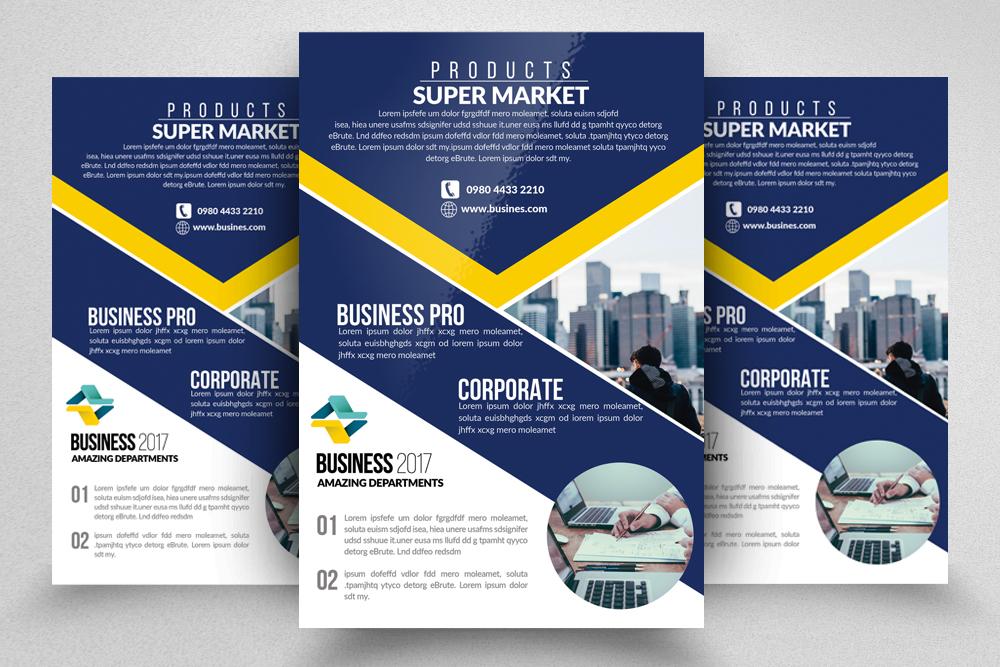 10 Multi Use Business Flyers Bundle example image 5
