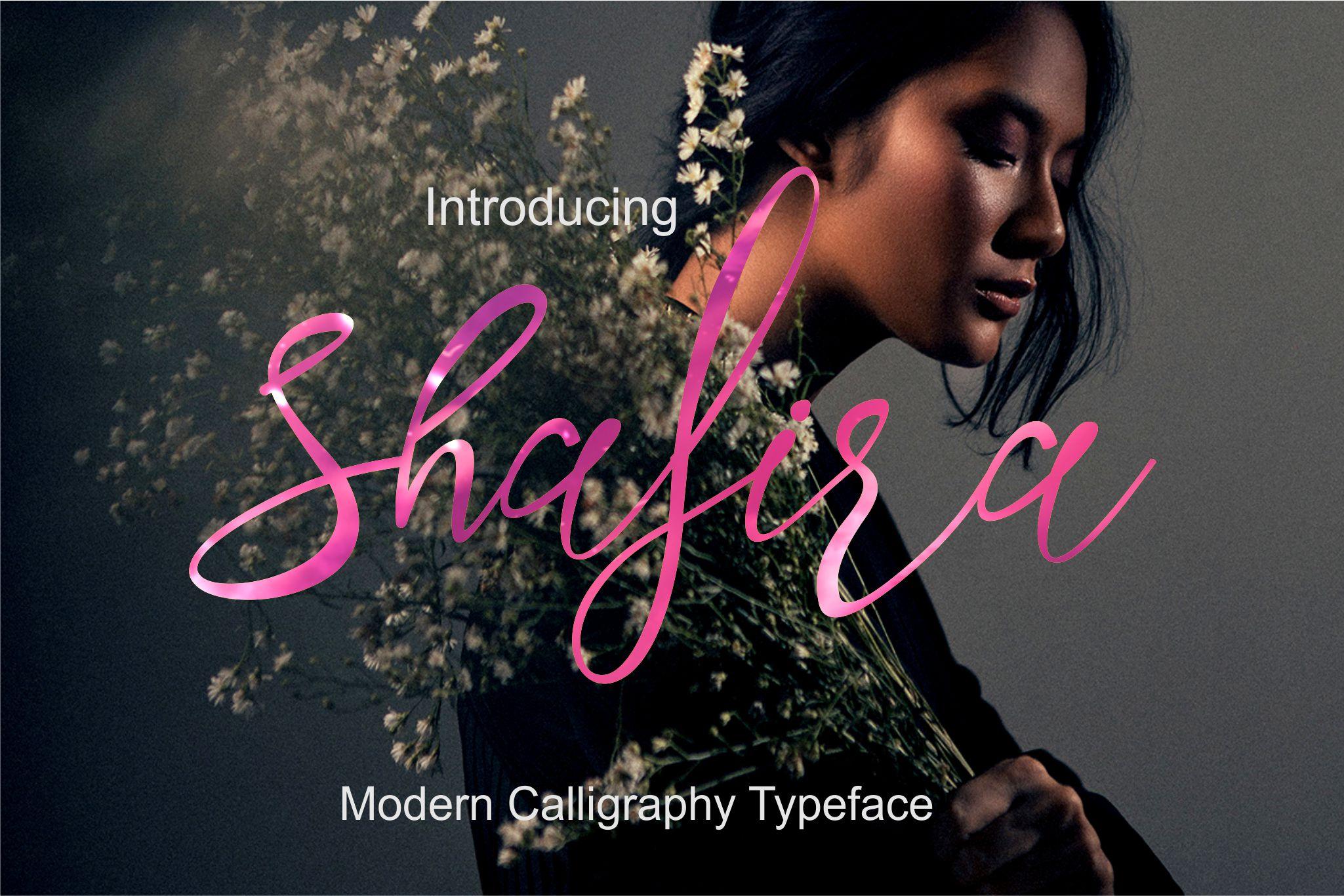 Shafira Script example image 1