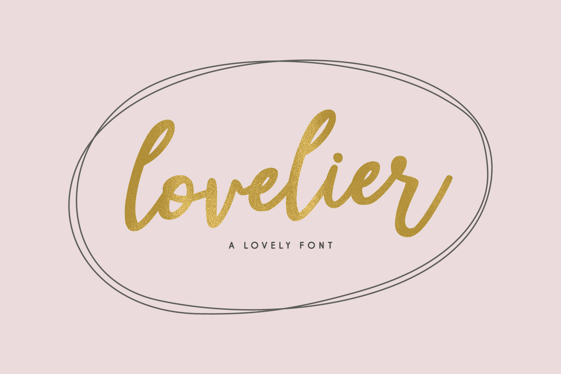 Lovelier Font example image 1