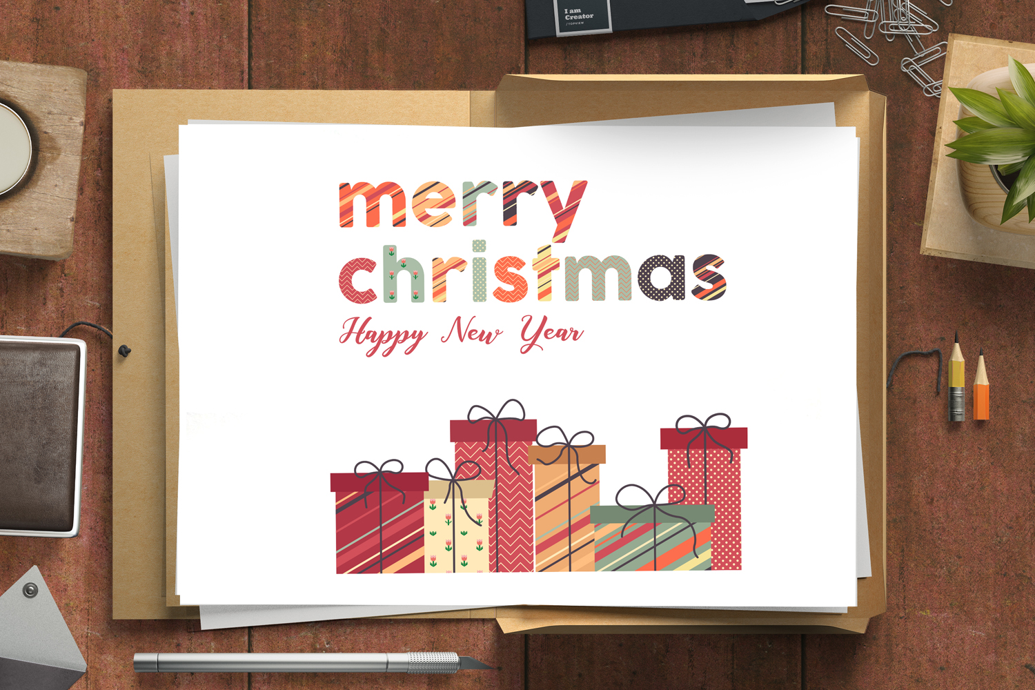 Christmas Greeting Cards & Posters example image 1