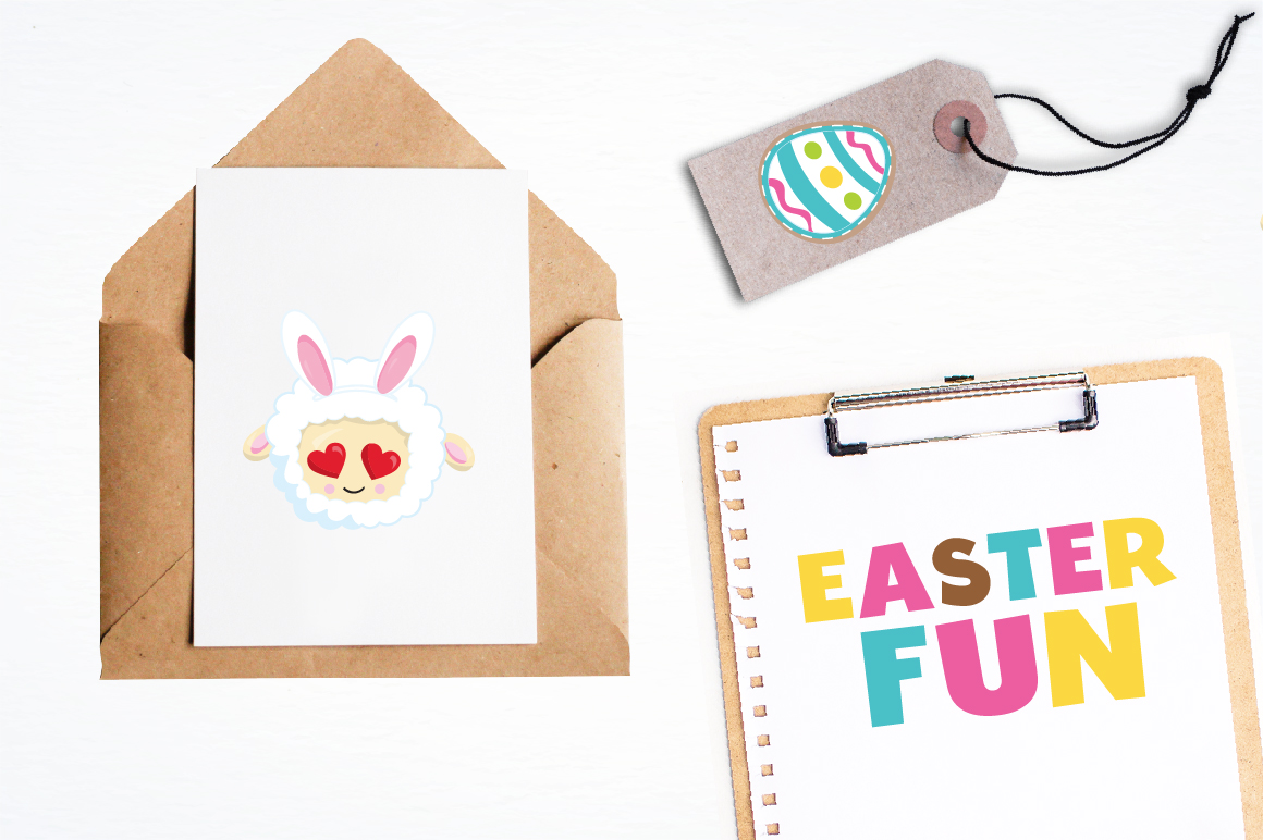 Easter sheep graphics and illustrations example image 4