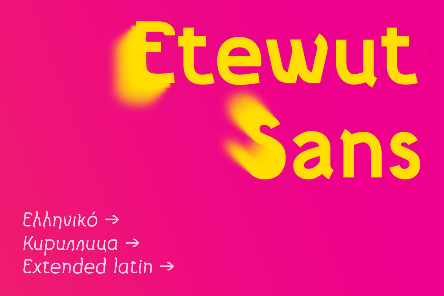 Etewut Sans example image 1