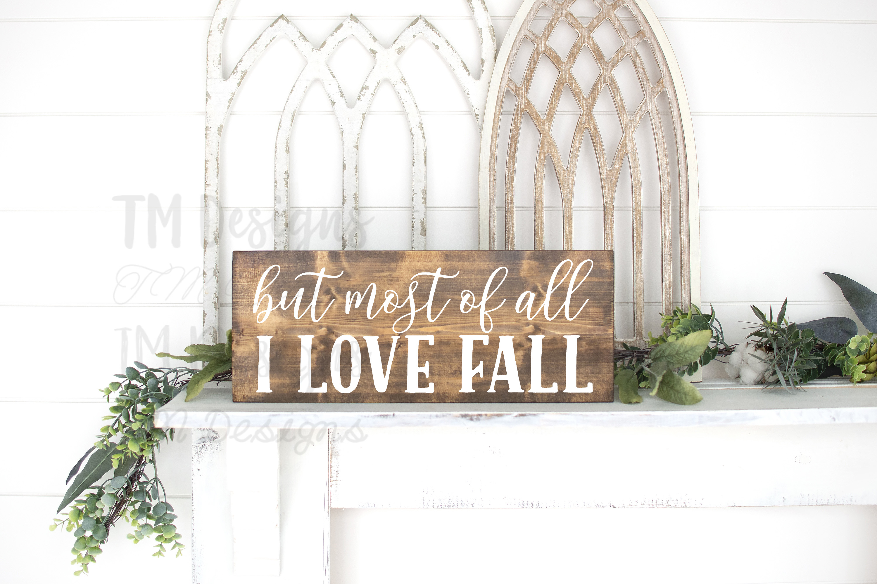 But Most of All I Love Fall SVG example image 1