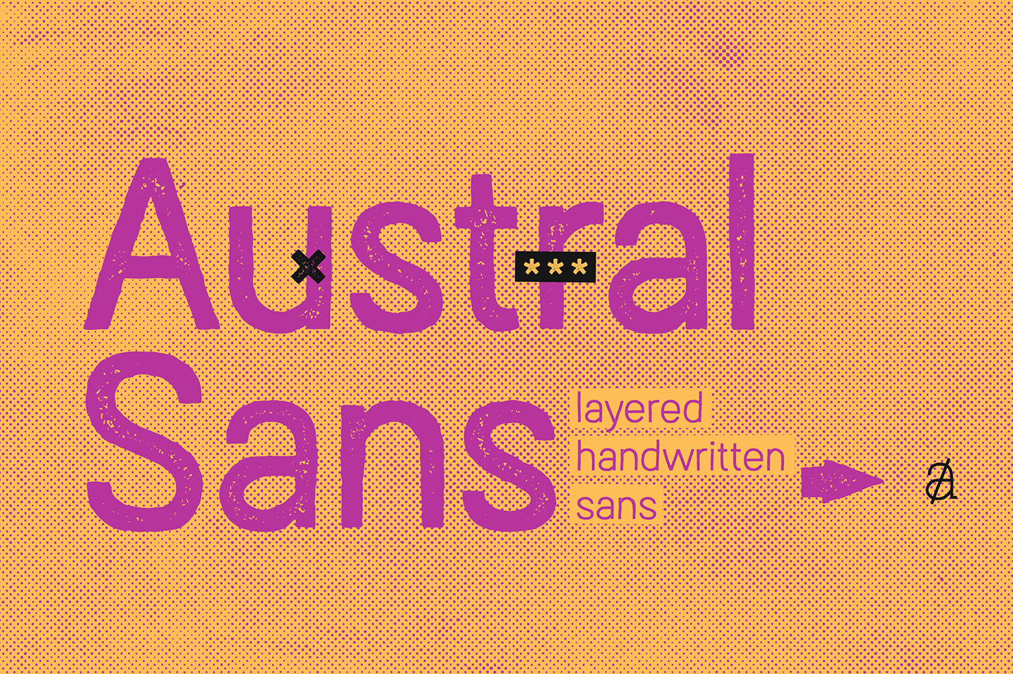 Austral Sans Stamp example image 19