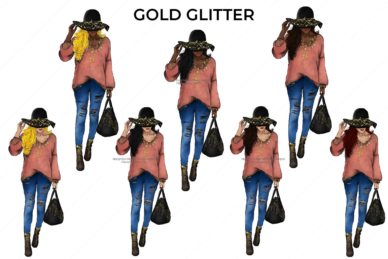 Hello Fall Fashion Girl Collection example image 5
