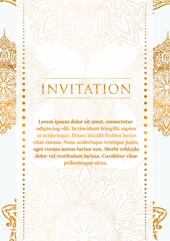Flyer Wedding Invitation Template example image 2