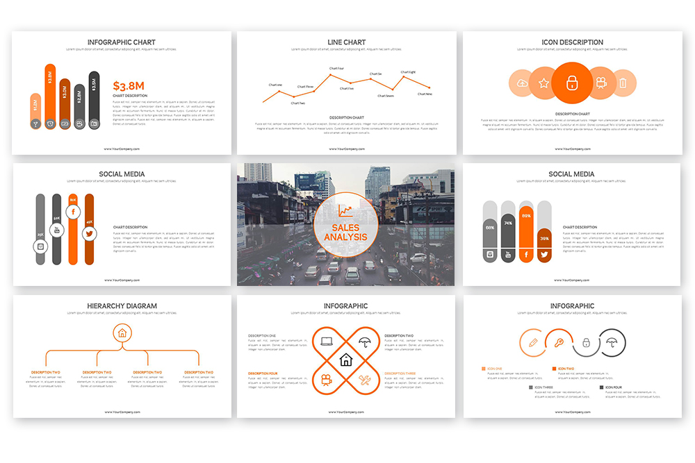 Grand PowerPoint Template example image 6