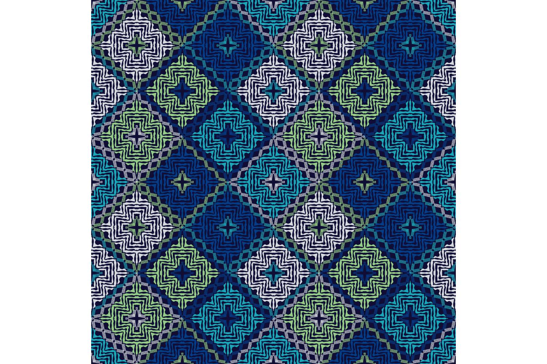 Ethnic boho ornament. Set of 10 seamless patterns. example image 1