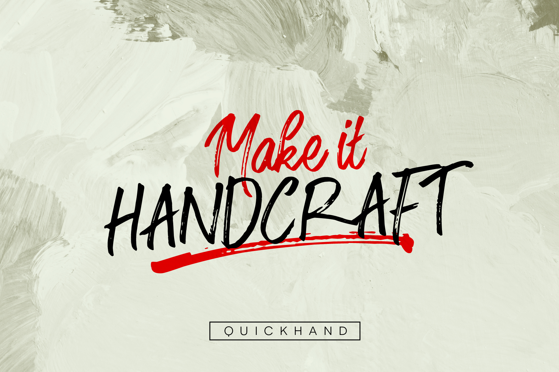 Quickhand Font Duo example image 3
