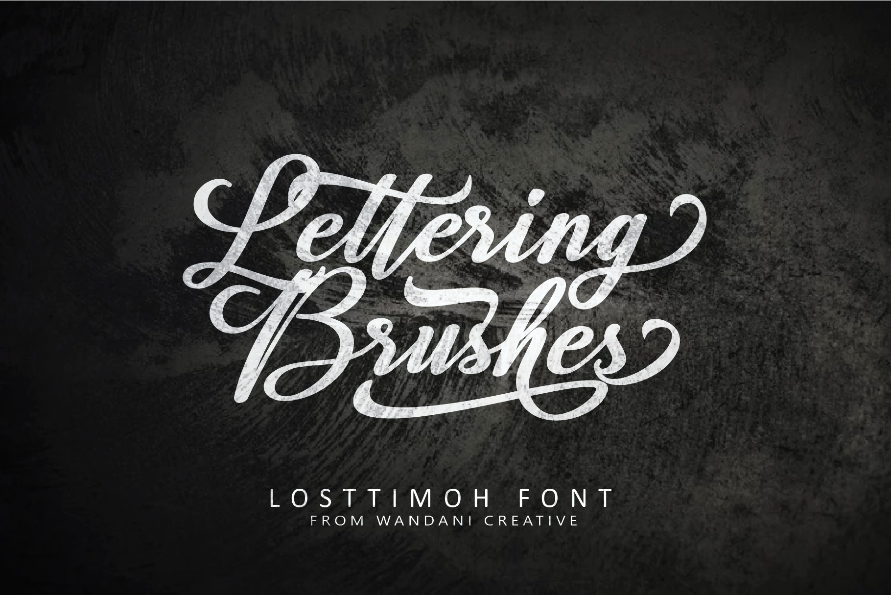 Losttimoh | A Modern Script example image 5