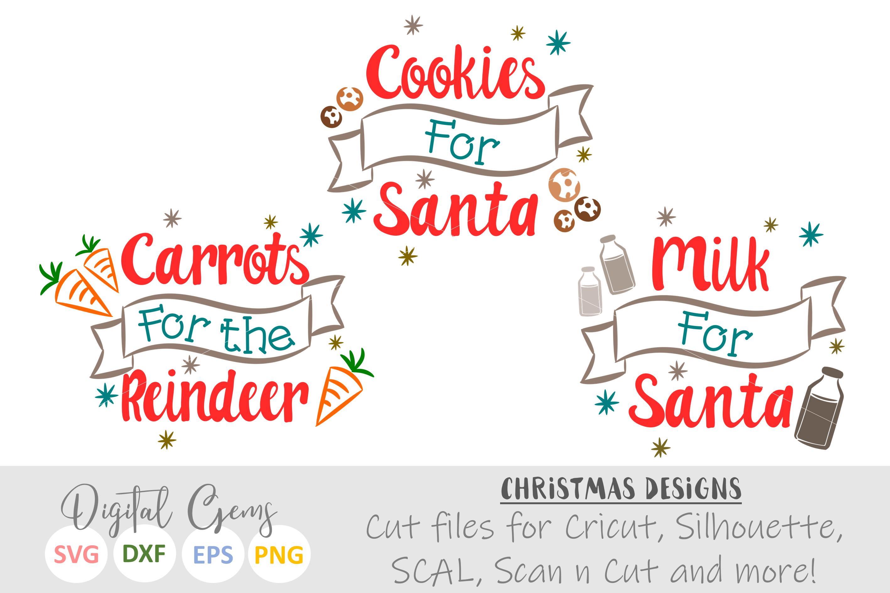 Cookies and Milk for Santa and Carrots for the Reindeer example image 2