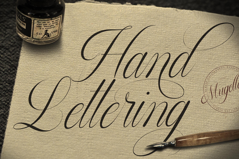 Mugello // Classy Calligraphy example image 5
