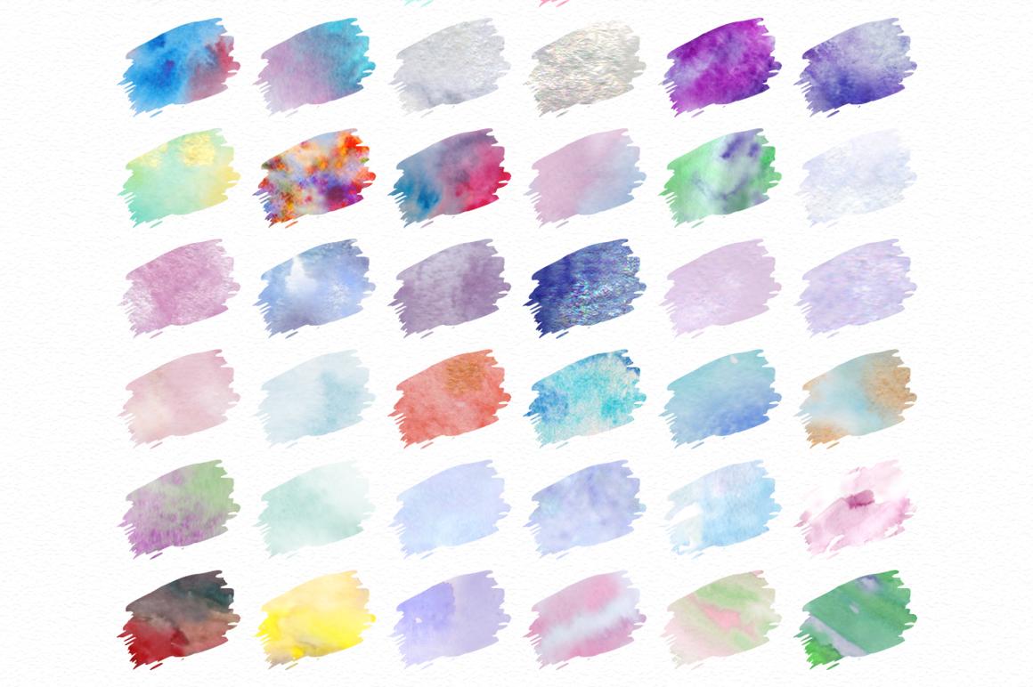 Watercolor world. Photoshop kit. example image 2
