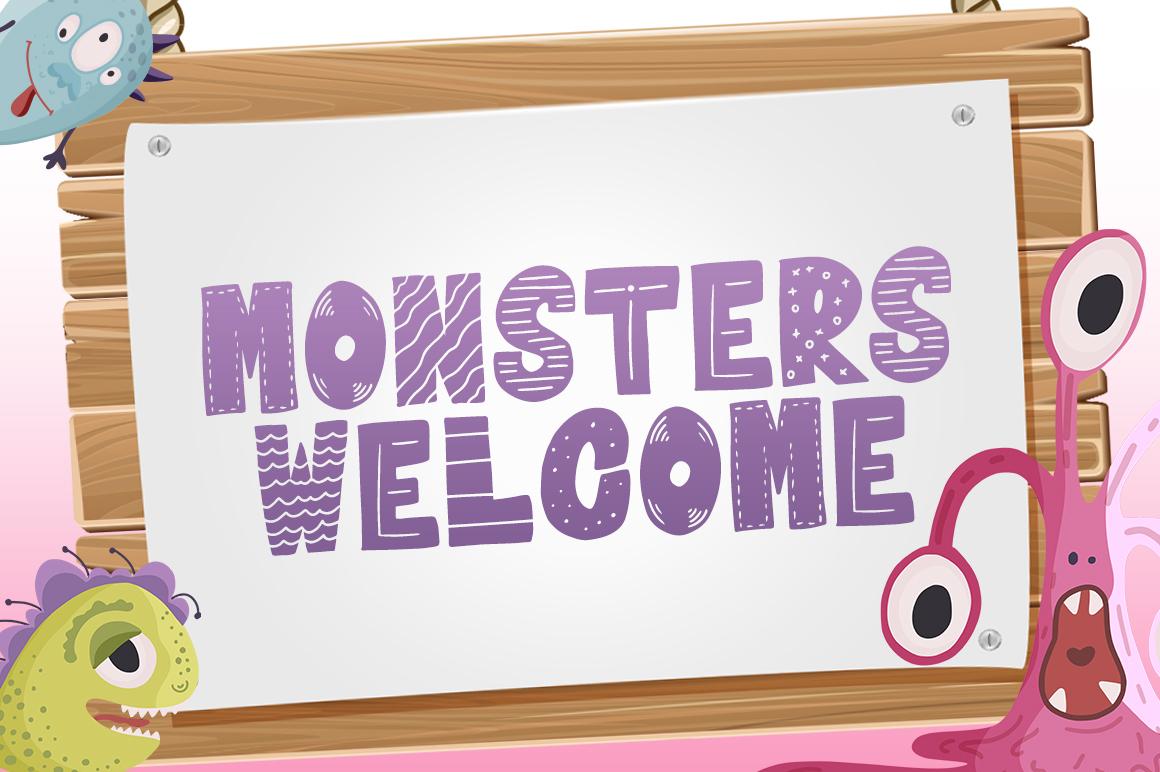 Frightful Font example image 2