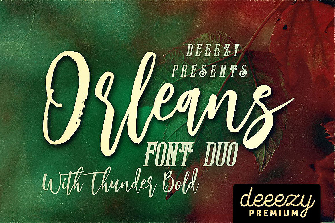 Orleans Script Font Duo example image 1