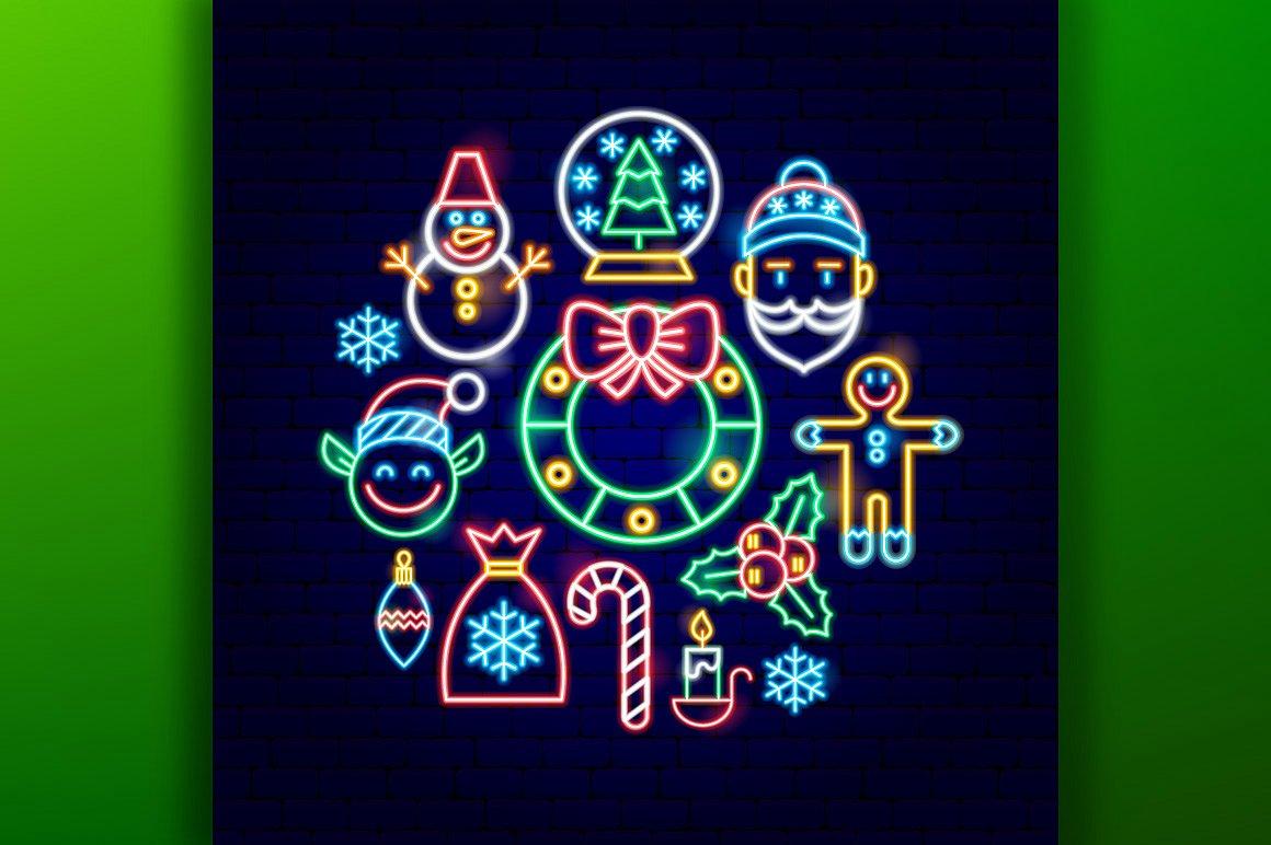 Christmas Neon example image 5