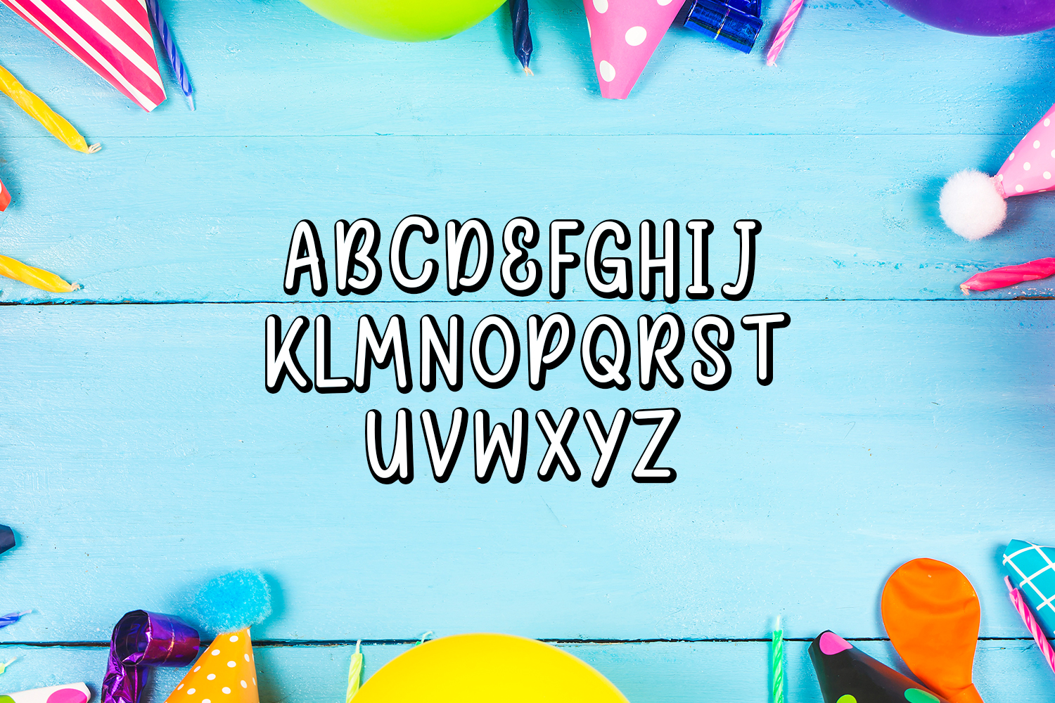 Happy Birthday Font example image 3