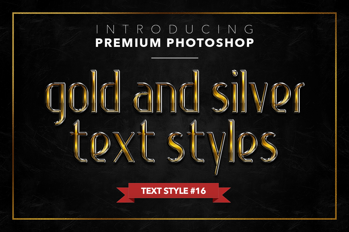 Gold & Silver #1 - 20 Text Styles example image 9