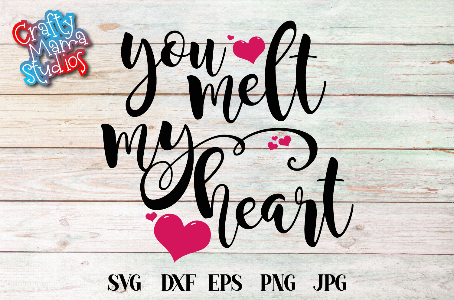 You Melt My Heart SVG, Wedding, Love Sublimation example image 2