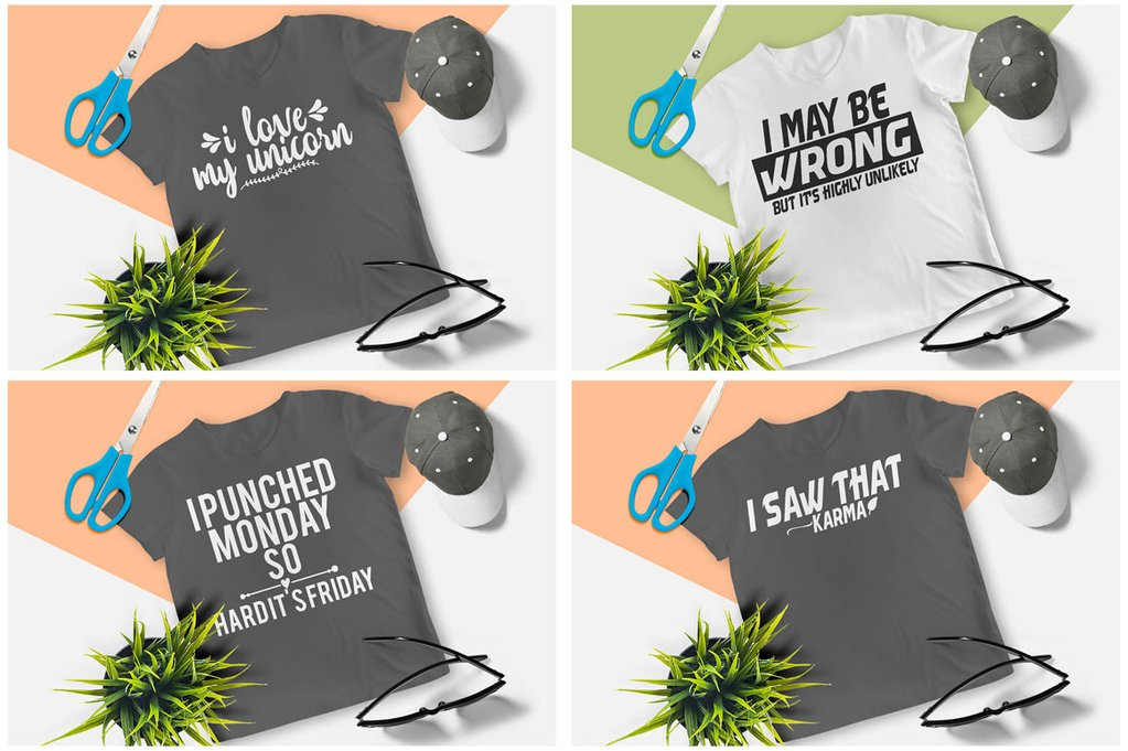 200 Printready Tshirt Design Mega Bundle example image 24