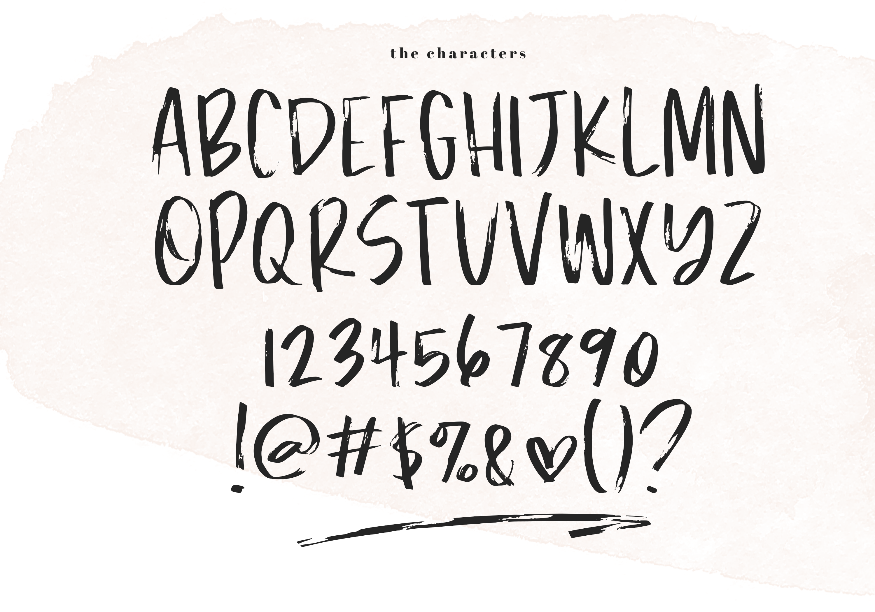 Southern - A Handwritten Brush Font example image 8