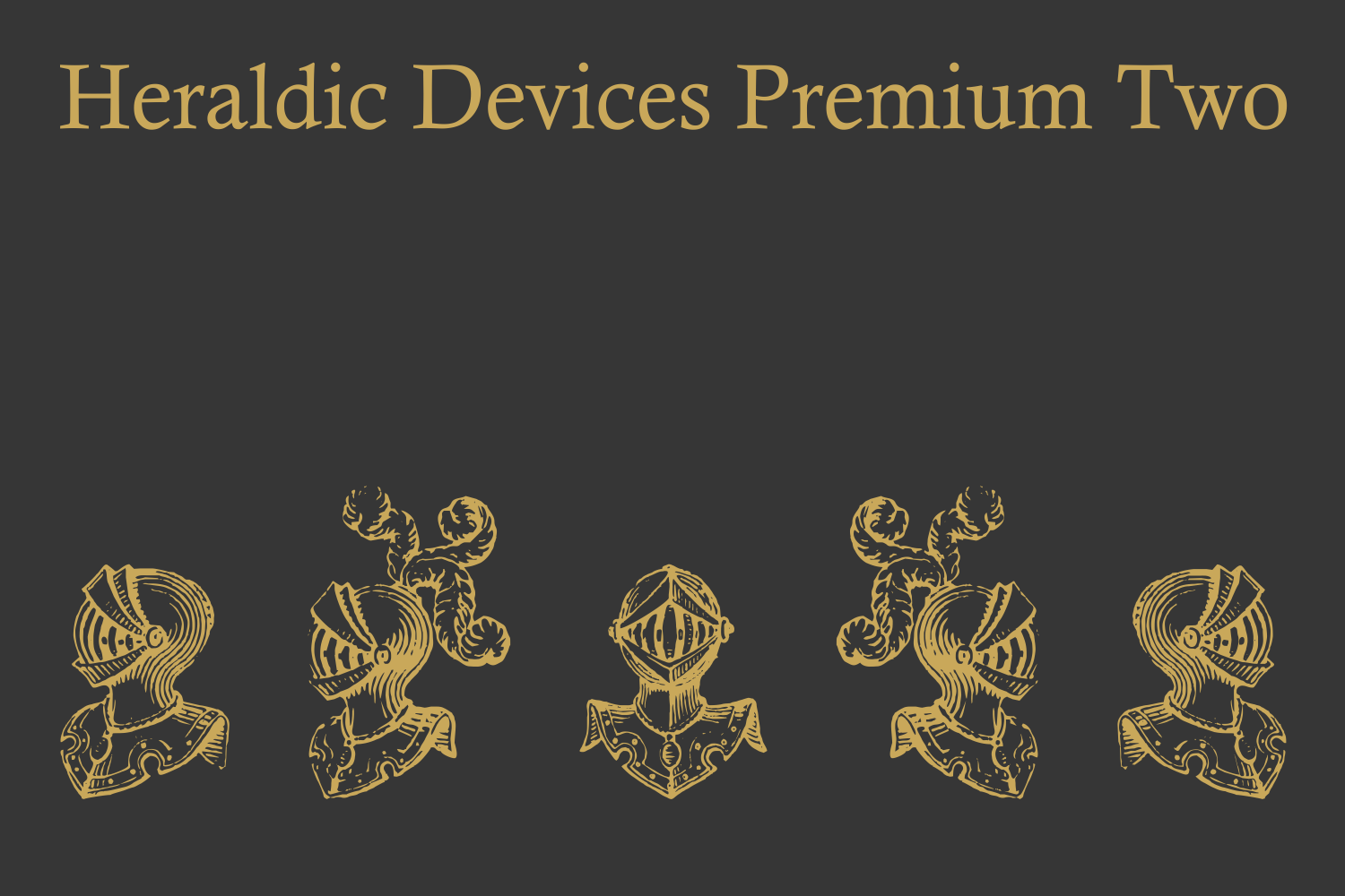Heraldic Devices Premium (pack)  example image 4